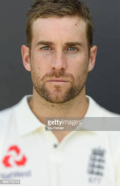 England batsman Dawid Malan pictured during England nets ahead of their first warm up match at Seddon Park on March 13 2018 in Hamilton New Zealand
