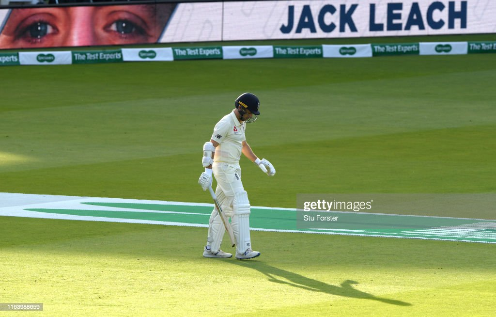 England v Ireland - Specsavers Test Match: Day One : News Photo
