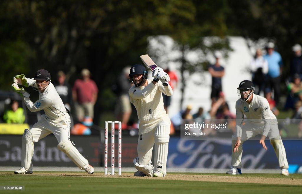 New Zealand v England 2nd Test: Day 3 : News Photo