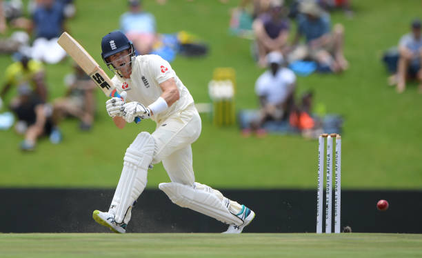England batsman Joe Denly picks up runs during Day Two of the First Test match between England and South Africa at SuperSport Park on December 27...