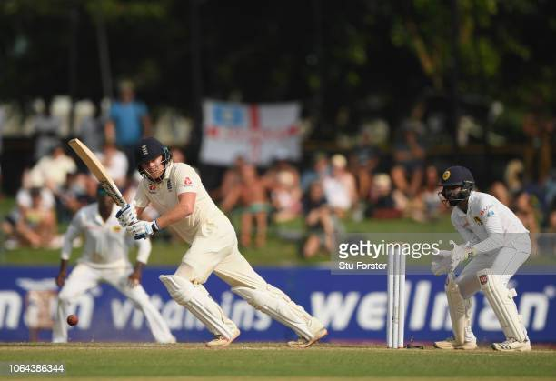 England batsman Jonny Bairstow picks up some runs during Day One of the Third Test match between Sri Lanka and England at Sinhalese Sports Club on...