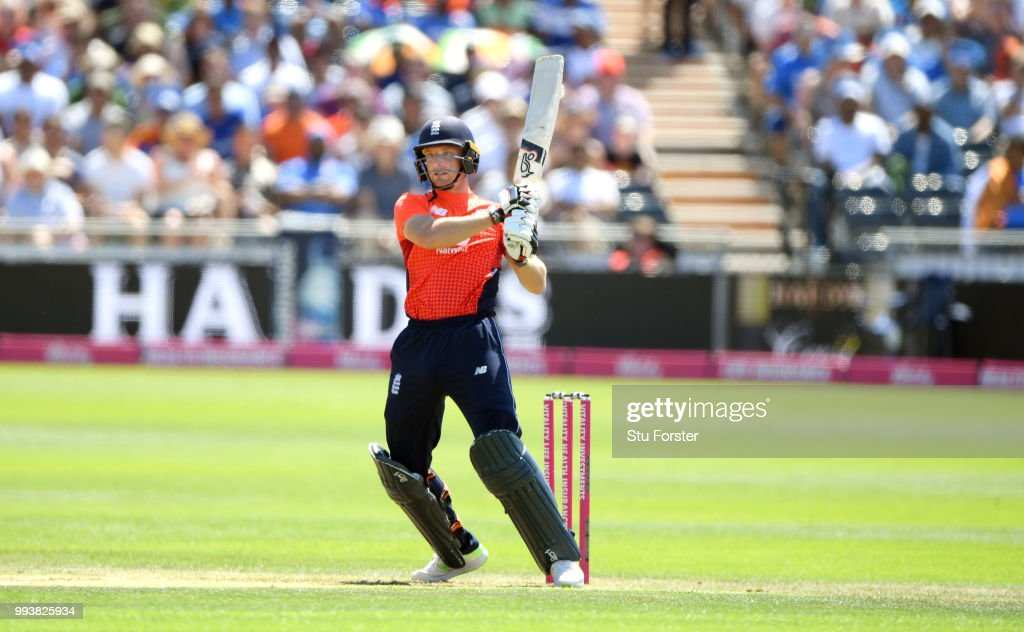 England v India - 3rd Vitality International T20 : News Photo