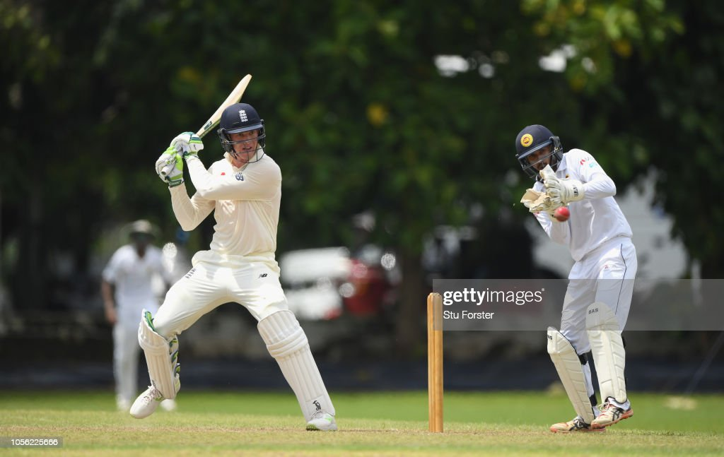 Sri Lanka Board President's XI v England: Tour Match : News Photo