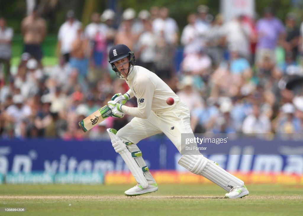 Sri Lanka v England: First Test - Day Three : News Photo