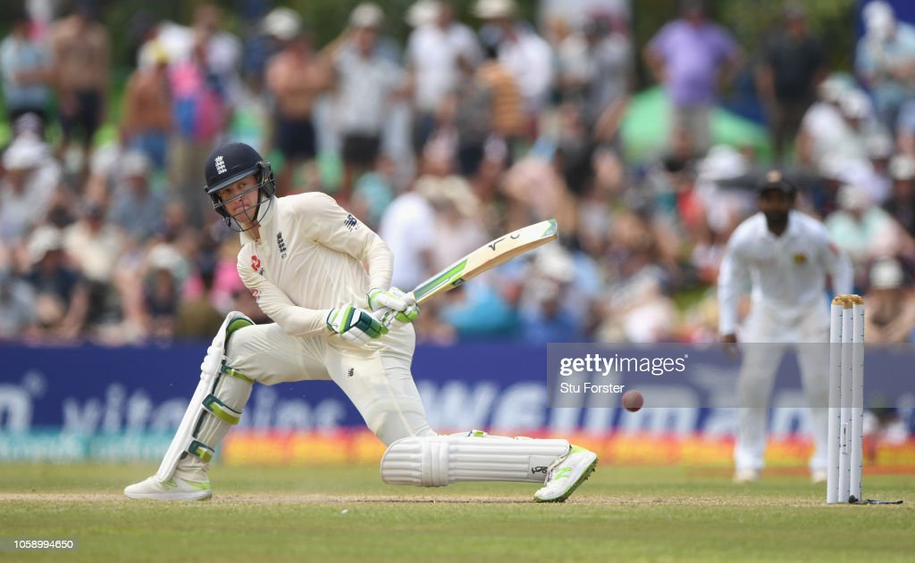 Sri Lanka v England: First Test - Day Three : News Photo