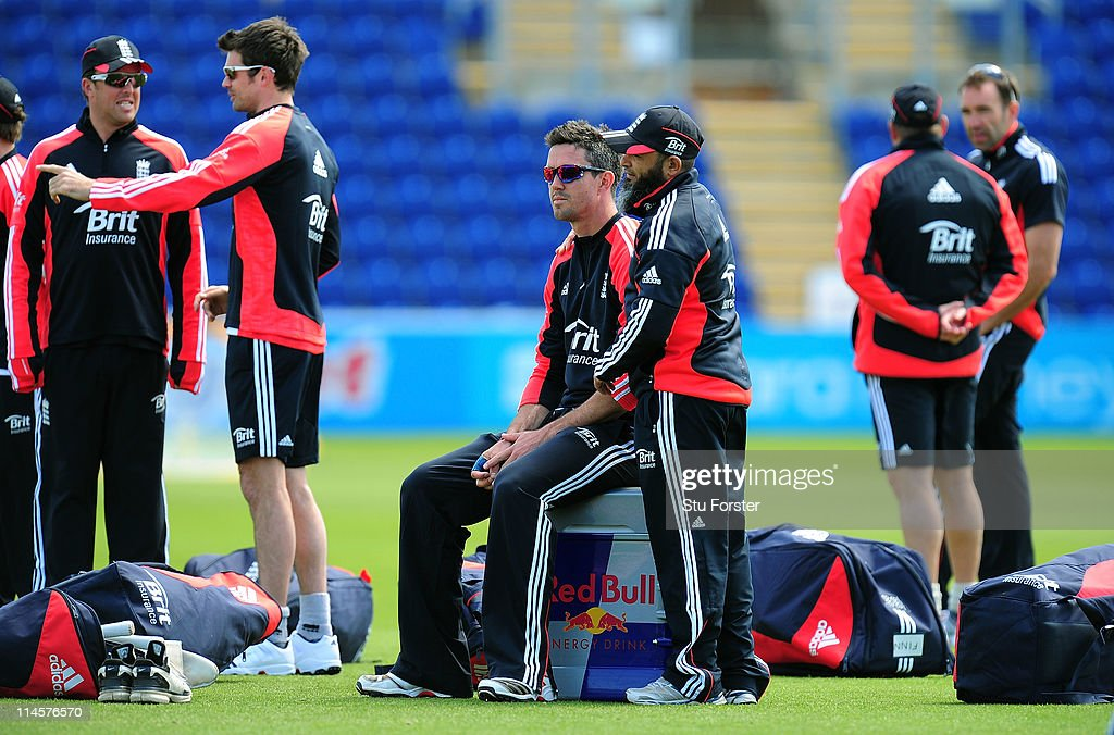England and Sri Lanka Nets Session