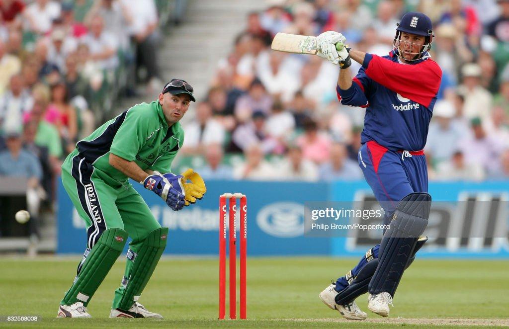 Only ODI - Ireland v England : News Photo