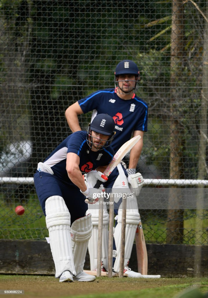 England Nets Session : News Photo
