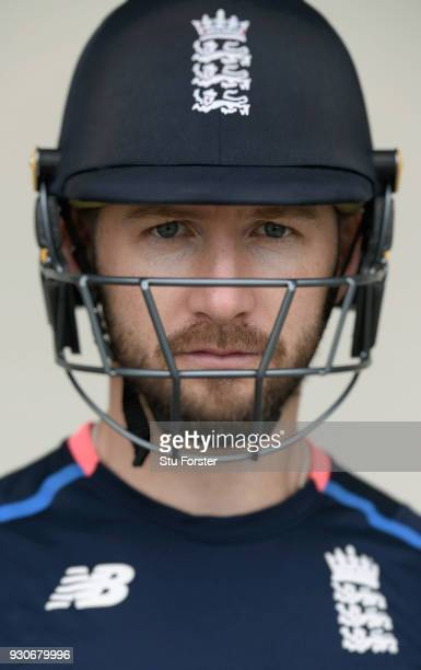 England batsman Mark Stoneman pictured during England nets ahead of their first warm up match at Seddon Park on March 12 2018 in Hamilton New Zealand