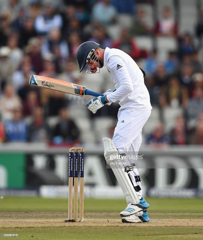 England v India: 4th Investec Test - Day Three : News Photo