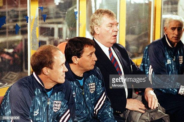 Phil Neal Assistant Coach, Graham Taylor Manager & Lawrie McMenemy assistant Manager