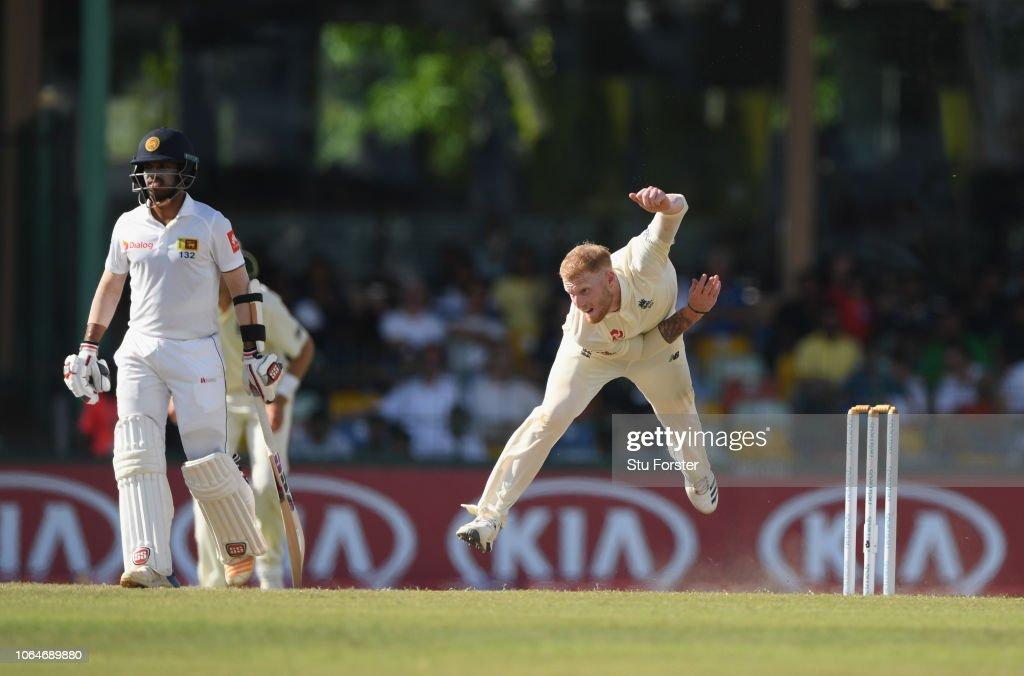 Sri Lanka v England: Third Test - Day Two : News Photo