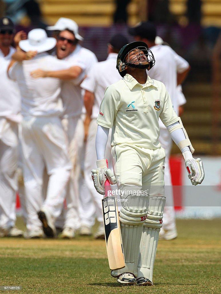 Bangladesh v England - 1st Test Day Five : News Photo