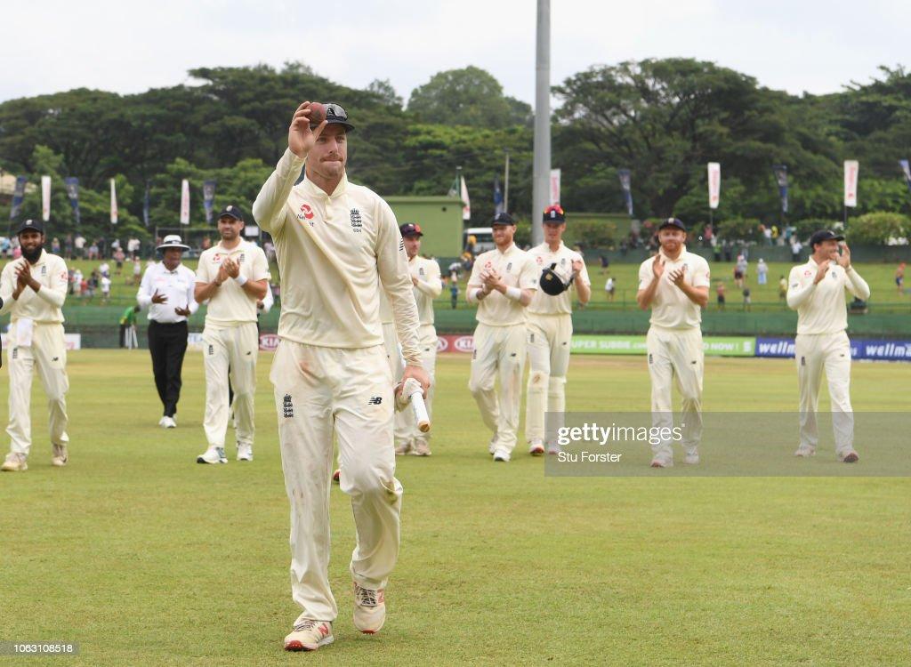 Sri Lanka v England: Second Test - Day Five : News Photo