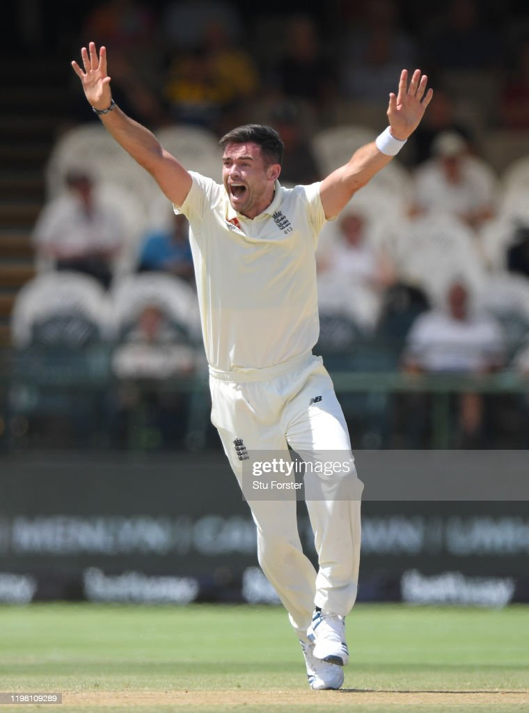 South Africa v England - 2nd Test: Day 5 : News Photo