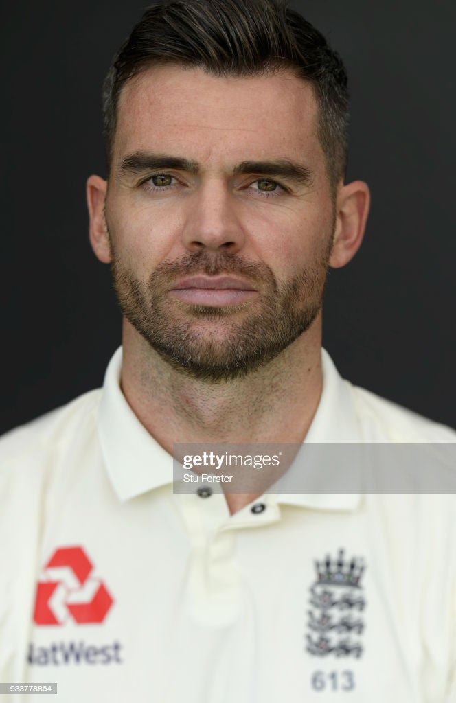 England bowler James Anderson pictured during England nets ahead of their first warm up match at Seddon Park on March 13, 2018 in Hamilton, New Zealand.
