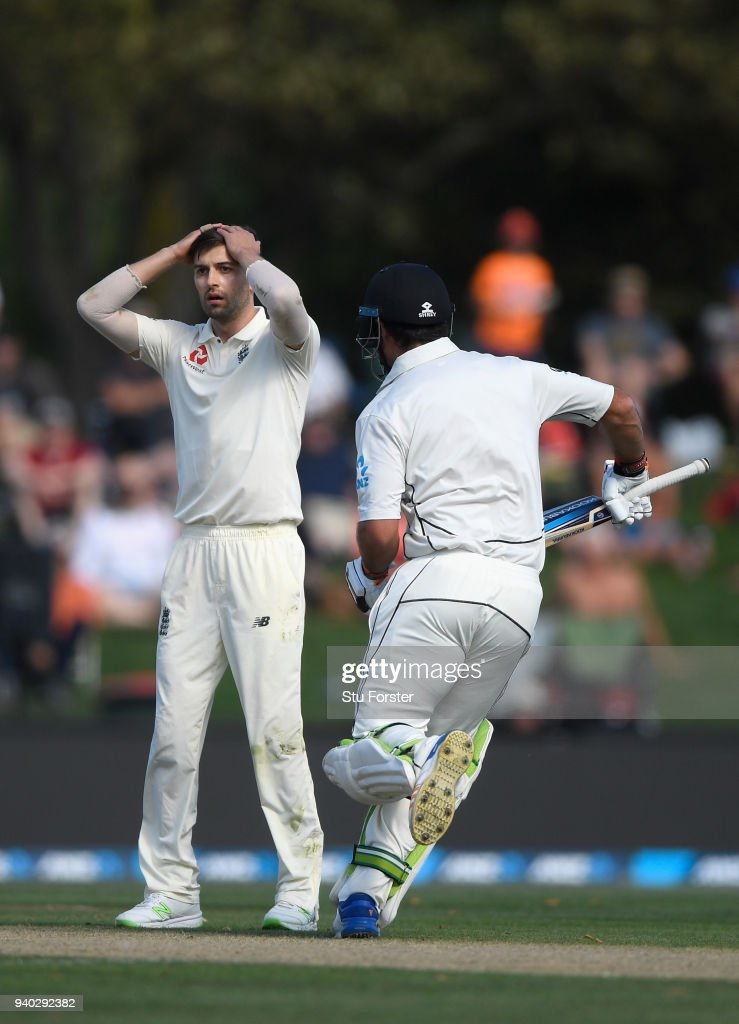 New Zealand v England - 2nd Test: Day 2