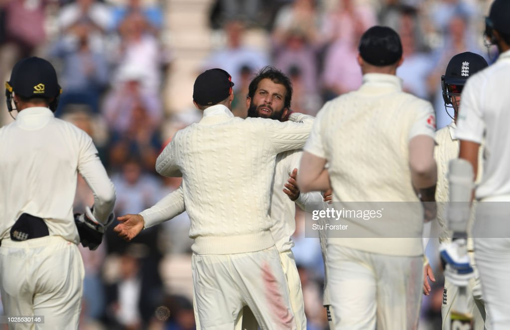 England v India: Specsavers 4th Test - Day Two : News Photo