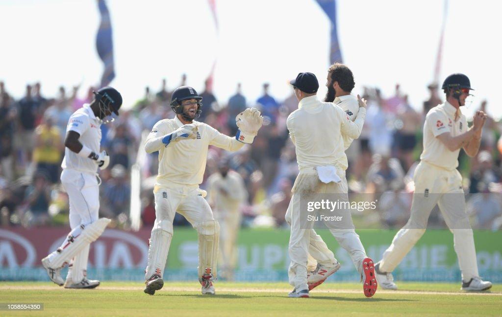 Sri Lanka v England: First Test - Day Two : News Photo