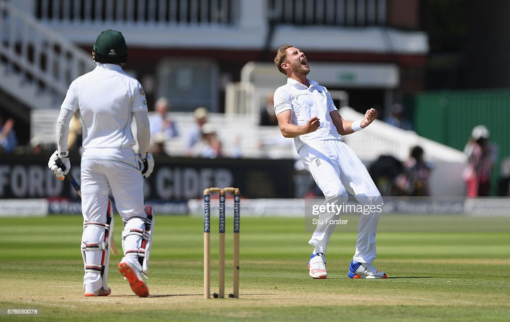 England v Pakistan: 1st Investec Test - Day Three