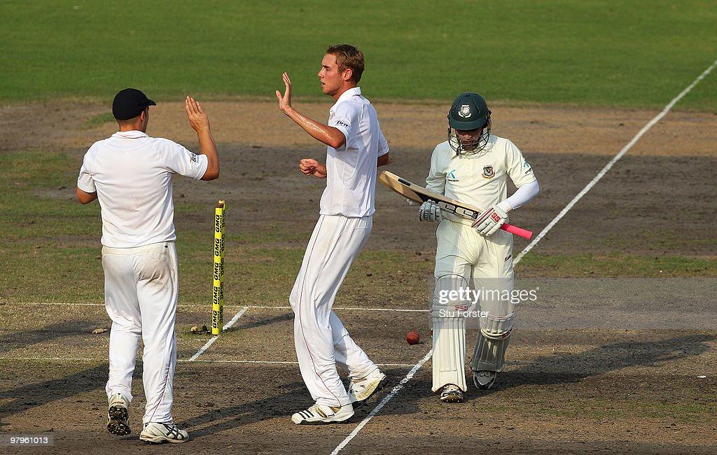 Bangladesh v England - 2nd Test Day Four : News Photo