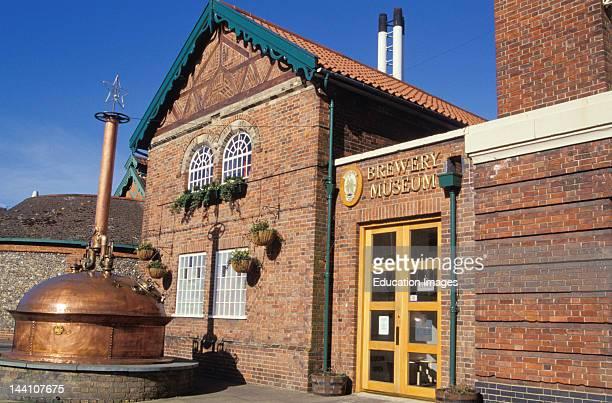 England, Bury St, Edmunds, Greene King Brewery Museum.