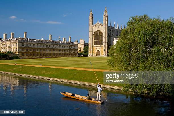 england, cambridgeshire, cambridge, kings college - cambridge university stock pictures, royalty-free photos & images