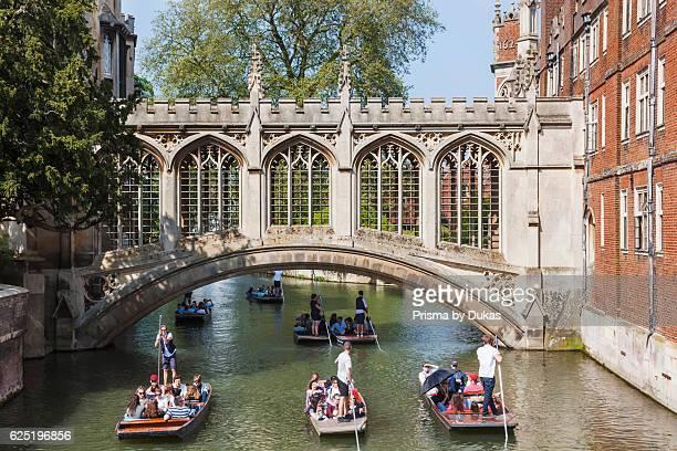 England Cambridgeshire Cambridge St John's College Bridge of Sighs