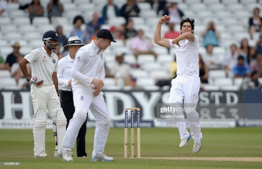 England v India: 1st Investec Test - Day Five : News Photo