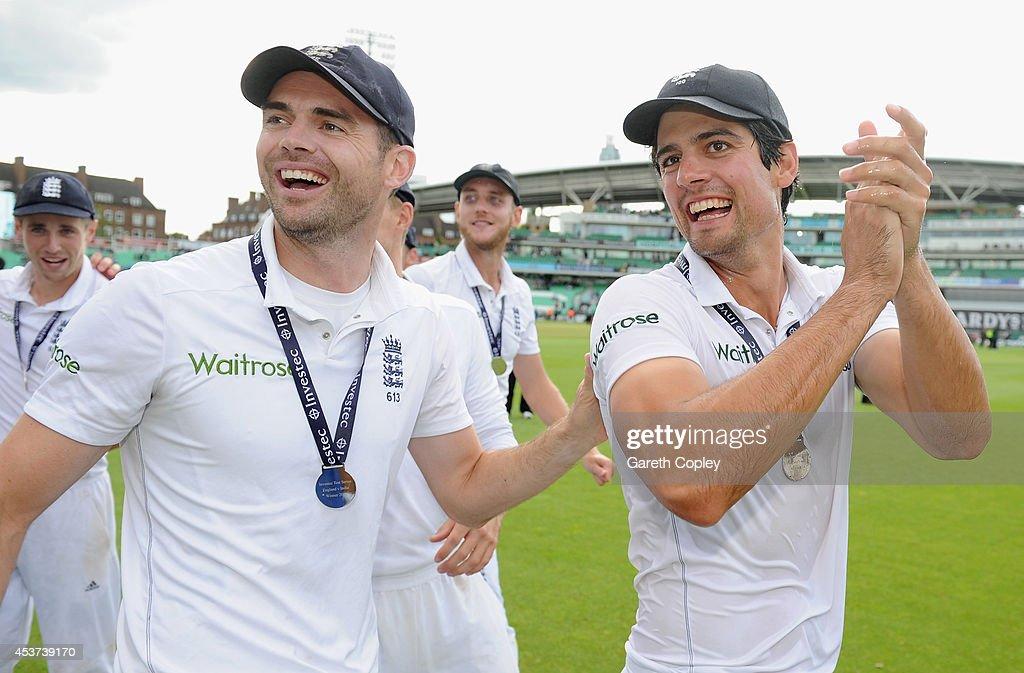 England v India: 5th Investec Test - Day Three : News Photo
