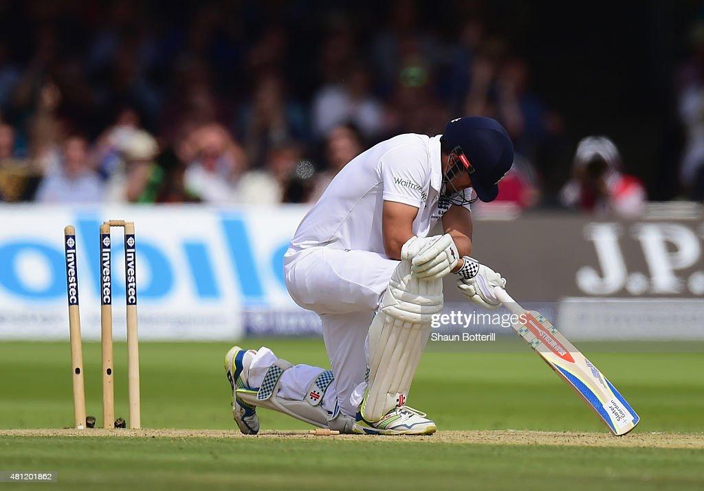 England v Australia: 2nd Investec Ashes Test - Day Three : News Photo