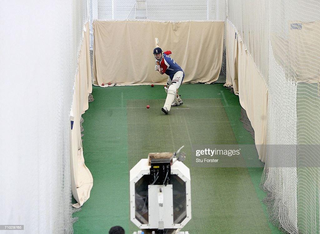 England & Sri Lanka Nets : News Photo
