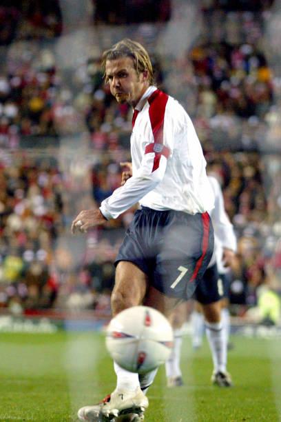 David Beckham Soccer England