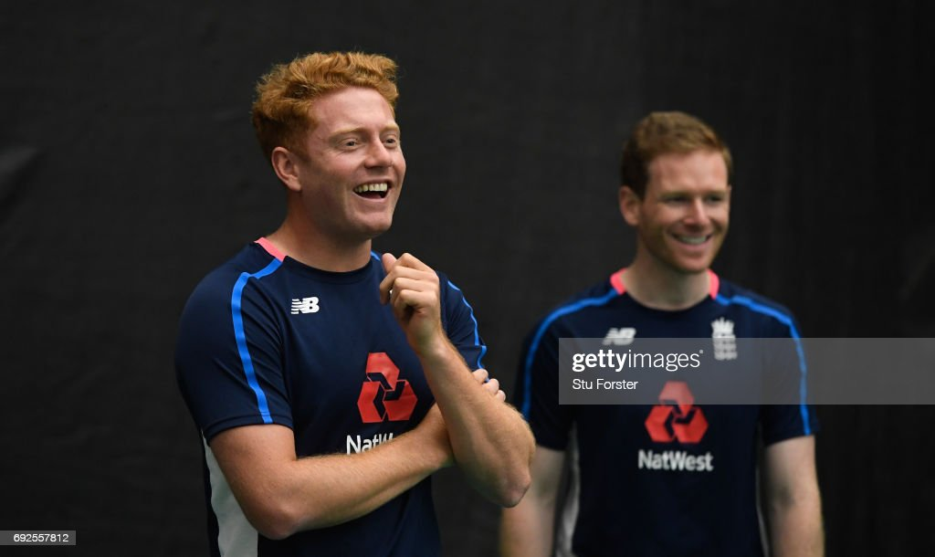 England and New Zealand Nets Sessions : News Photo