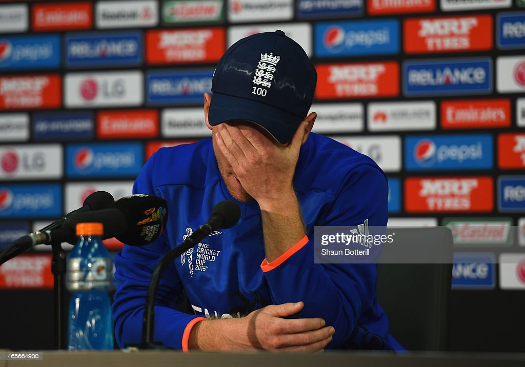 England v Bangladesh - 2015 ICC Cricket World Cup : News Photo