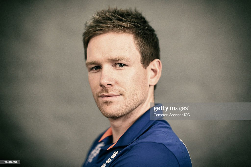 England captain Eoin Morgan poses during the England 2015 ICC Cricket World Cup Headshots Session at the Intercontinental on February 7, 2015 in Sydney, Australia.