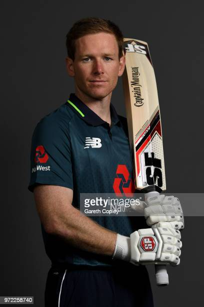 England captain Eoin Morgan poses for a portrait at The Kia Oval on June 12 2018 in London England