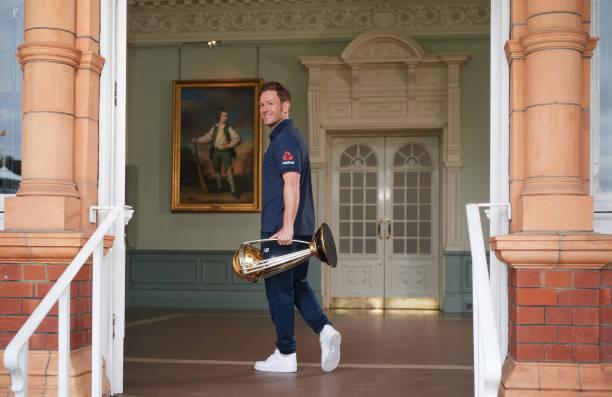 GBR: Winning Captain Photocall - ICC Cricket World Cup 2019 Final