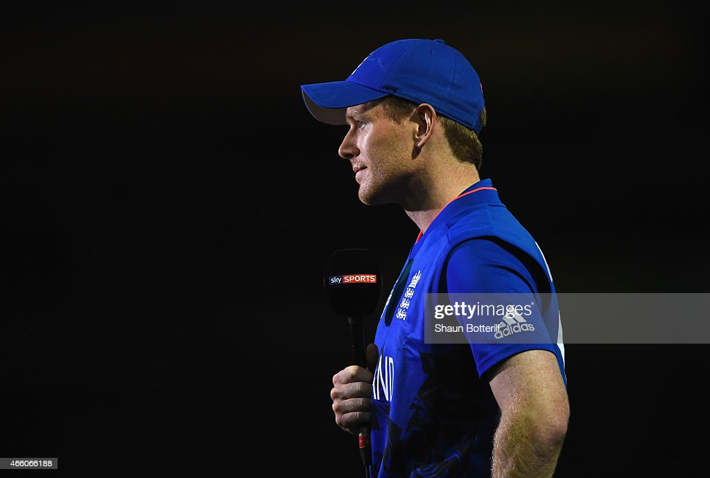 England v Afghanistan - 2015 ICC Cricket World Cup : News Photo