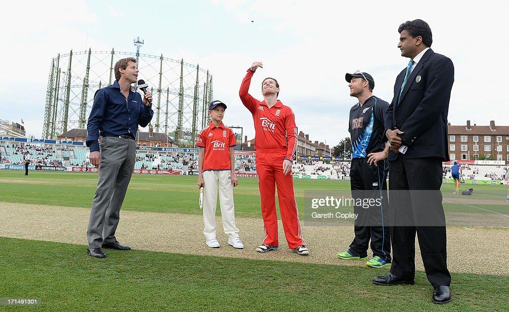 England v New Zealand: 1st NatWest International T20 : News Photo