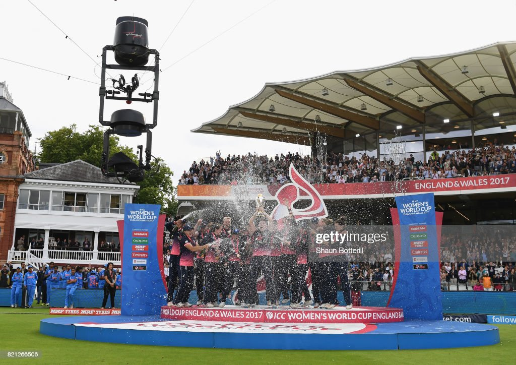 England v India: Final - ICC Women's World Cup 2017 : News Photo