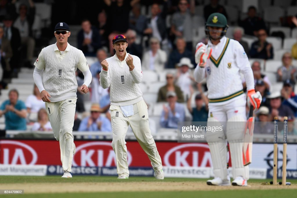 England v South Africa - 3rd Investec Test: Day Four : News Photo