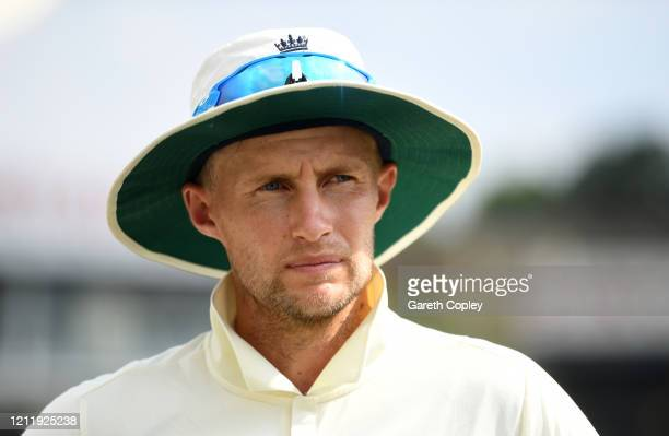 England captain Joe Root during the tour match between SLC Board President's XI and England at P Sara Oval on March 12, 2020 in Colombo, Sri Lanka.