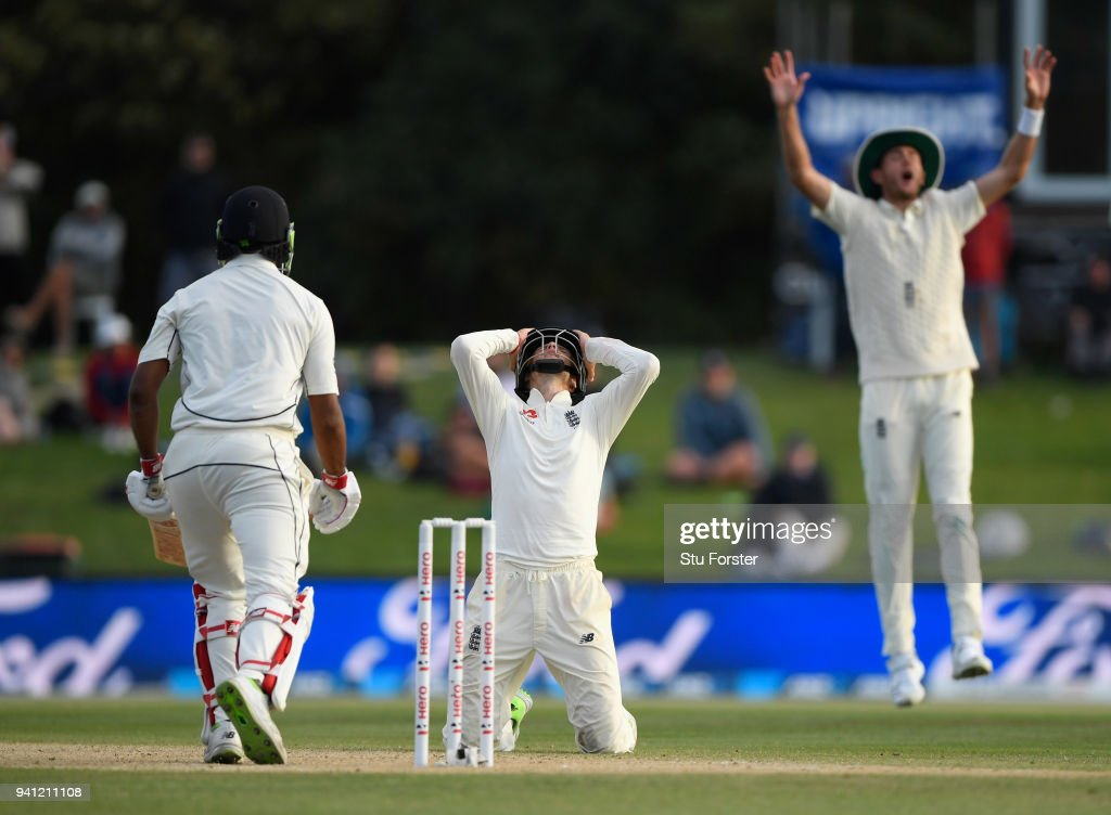 New Zealand v England 2nd Test: Day 5 : News Photo