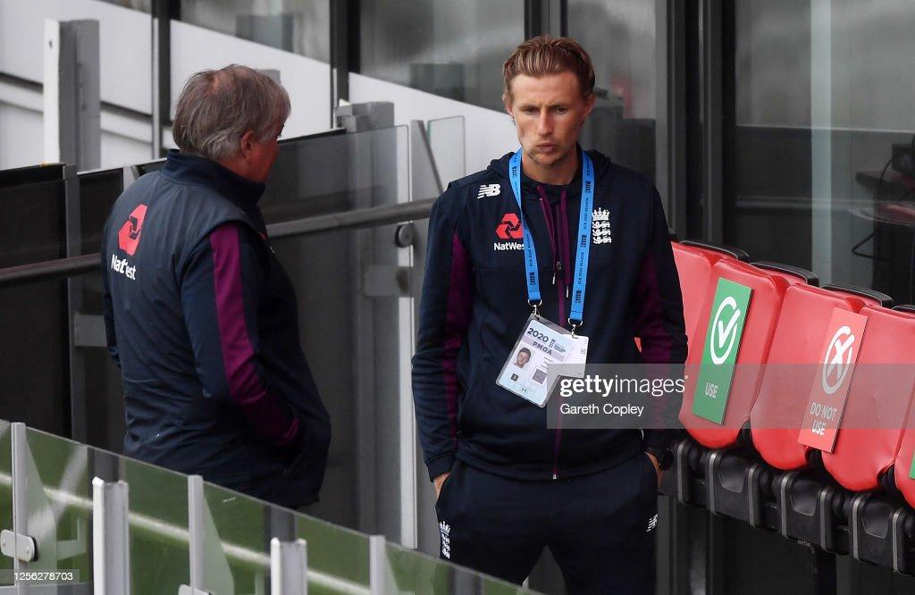 England Nets Session : News Photo