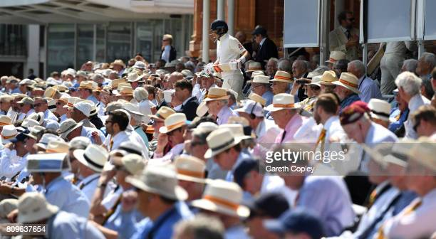 England captain Joe Root walks out to bat during day one of 1st Investec Test match between England and South Africa at Lord's Cricket Ground on July...