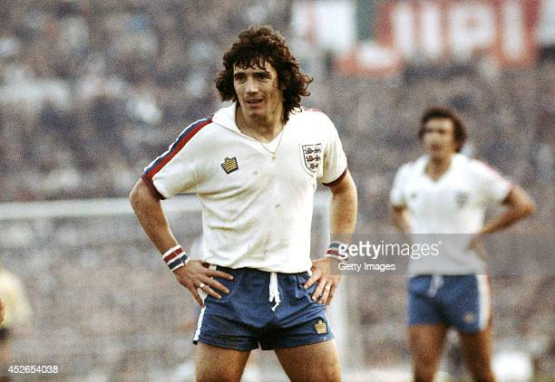 England captain Kevin Keegan looks on during the FIFA World Cup qualifier between Italy and England at the Olympic Stadium in Rome on November 17,...