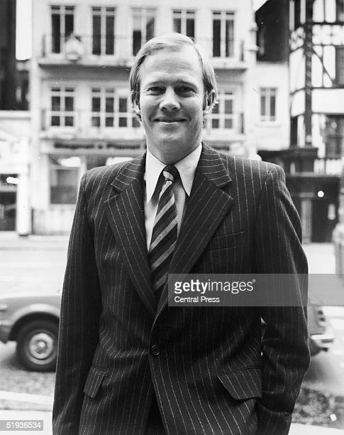 England captain Tony Greig in London during the Packer case at the High Court 30th September 1977 Greig lost his captaincy for his attempts to sign...