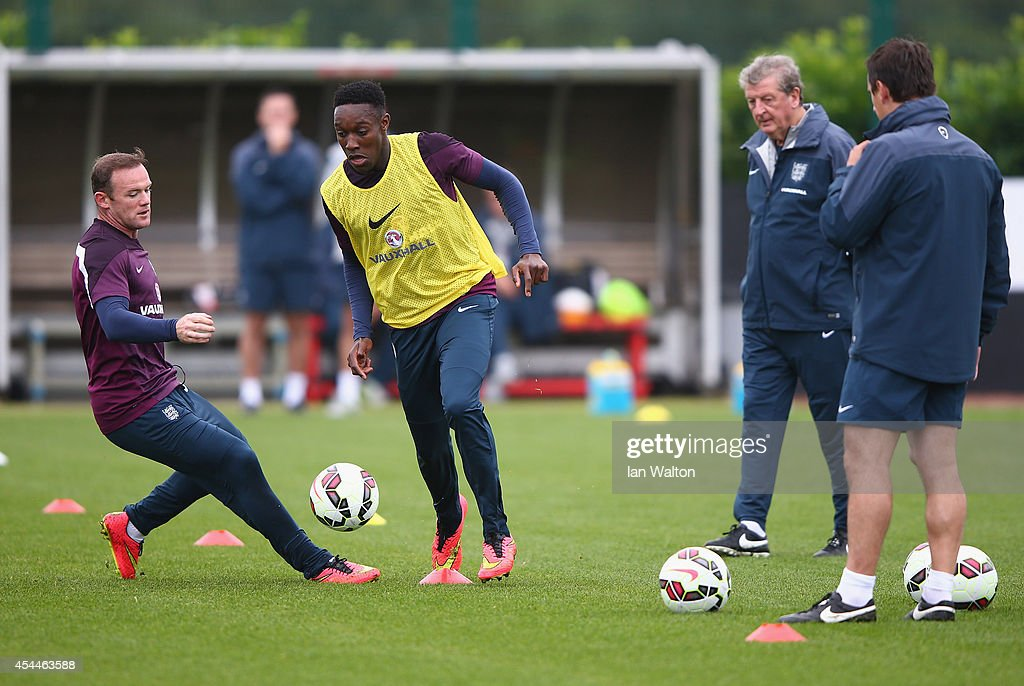 England Training and Press Conference : News Photo