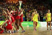 gold coast australia england celebrate at